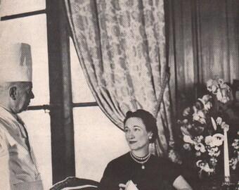 Original 1940s Vogue photo Duchess of Windsor - Cele2