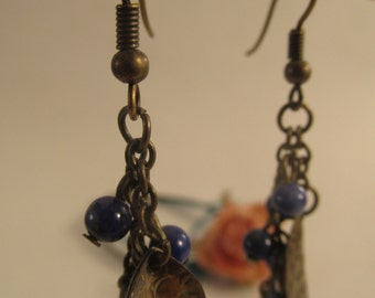 2065 - Earrings Lapis Lazuli