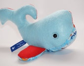 Hector Murphy (an original Murphy Whale stuffed with love and poly-fill)