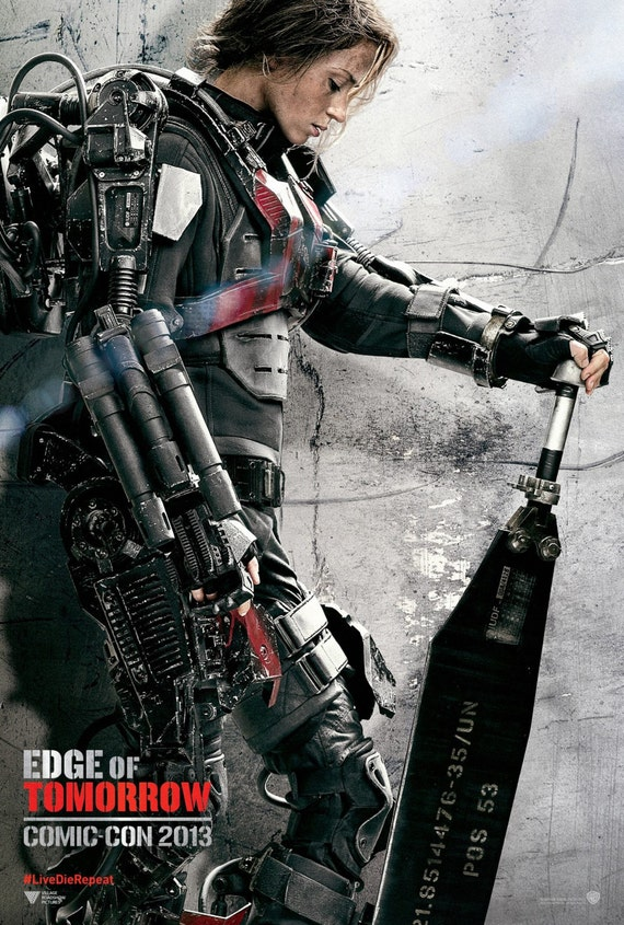 Emily Blunt - Edge of Tomorrow Poster V003 - 16 x 24 inches