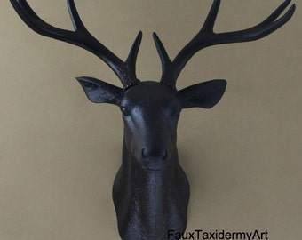 Charming Deer Head Wall Decor 28+ [ Deer Head Home Decor ] | Nodic Deer Head