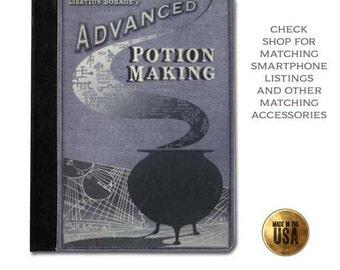 Advanced Potion Making Handbook Leather ipad case (ipad 2 3 4, air, mini, Kindle Fire, paperwhite)