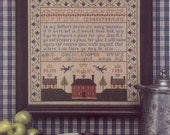 Many Mansions Sampler Leaflet for Counted Cross Stitch - #2L