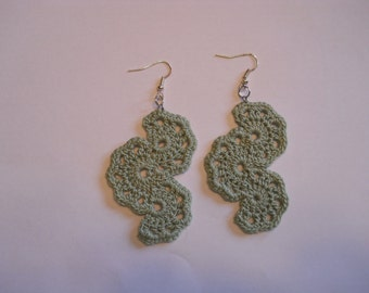 Fan Style Earrings
