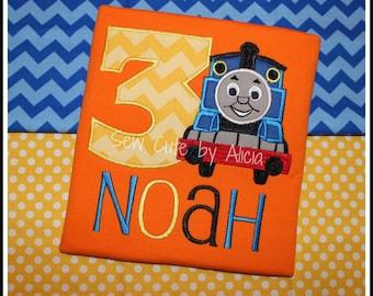 Train 3rd Birthday Shirt ... All Aboard!