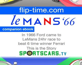 Sportscars TV: The LeMans 1966 Race Companion - Digital Book
