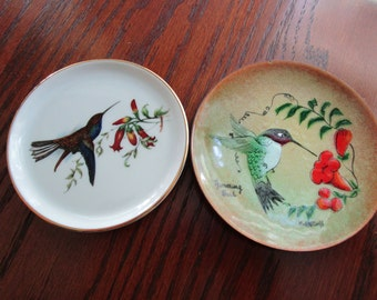 Tiny Hummingbird Dishes