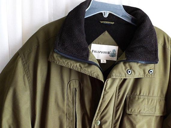 Vintage Mens Fieldmaster Down Jacket Size Extra Large Xl