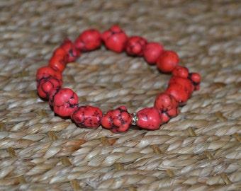 Red Nugget Bracelet