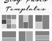 Blog Photo Templates - Pack of 10 - Instant Download