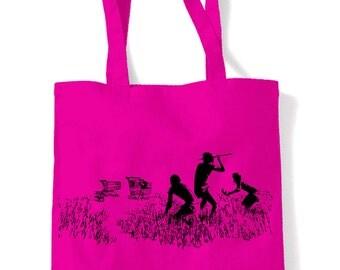 Banksy Shopping Trollies Shopping Bag