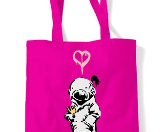 Banksy Think Tank Shopping Bag