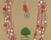 JewelryOs® Necklace-Red ...