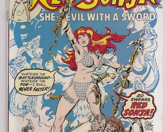 Marvel Feature 4 VF+ Red Sonja Marvel Comics Books Bronze Age May 1976 Christmas Gifts Birthday Gifts for Him