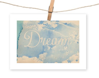 Dream, Print - Instant download