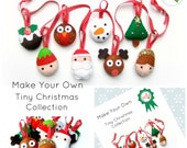 Make Your Own Tiny Christmas Collection Kit (no Stuffing)
