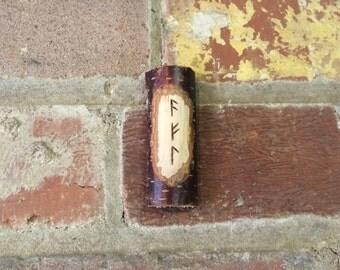 Handmade 'Power' Wooden Viking Rune Charm