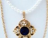 Princess Bride Pearl Necklace Handmade Wedding
