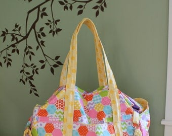 Watermelon Wishes XL Diaper Bag for Twins Triplets Large Big