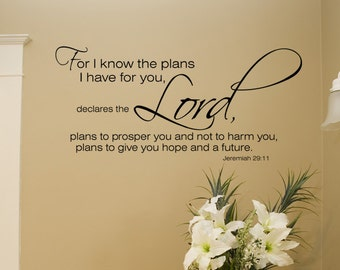 Jeremiah 29 11 Wall Art jeremiah 29 11 wall art for i know the plans jeremiah 29:11
