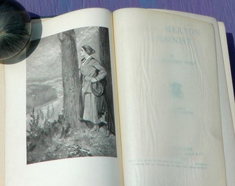 Antique 1910 Lady Merton Colonist by Mrs Humphry Ward English woman immigrant to Canada wilderness rustic adventure societal critique book