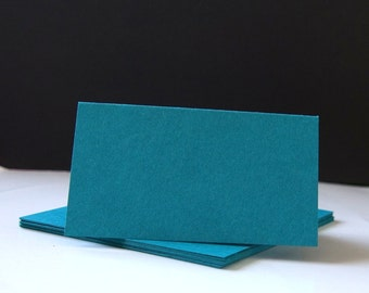 12 Folded Place Cards, DIY Blank Escort Cards, Wedding Seating Cards or Buffet Signs . 69 Colors