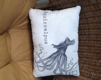 Squirrelpus Pillow