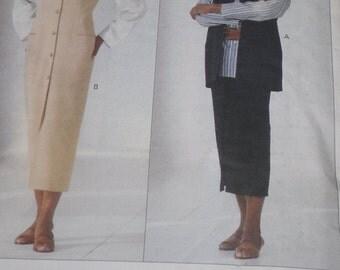 Vintage Vogue Pattern 1184 Michael Kors Misses Jumper Dress size 6-8-10 Factory Fold