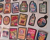 33 Tops Wacky Pack Stickers Excellent Condition Excellent Condition / Never Used