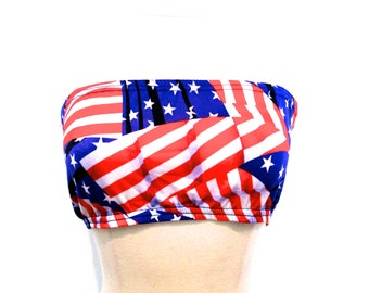 90's USA Crop Top size - S/M