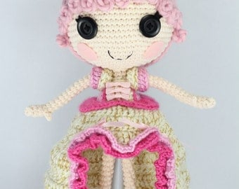 PATTERN: Goldie Crochet Amigurumi Doll