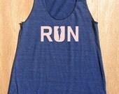 Running Tank - Women's Workout Tank Top - Run - Runner - Sleeveless Running Shirt - Womens Racerback Tank - Exercise Gear - Gift Friendly