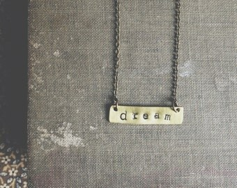 dream necklace.