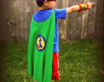 Every Hero's Cape and Accessories Sewing Pattern Children and Adult, PDF