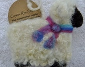 Sheep Ornament - needlefelted