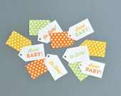 SALE Baby Gift Tags, set of 12