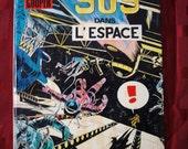 Dan Cooper SOS Dans L'Espace Albert Weinberg 1971 Editions Du Lombard French Space Astronaut SpaceShip Rocket Capsule Sci Fi Launch Sci Fi