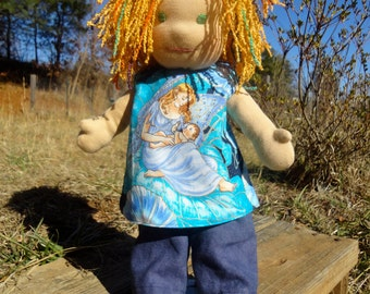 """Pants pattern for 13"""" doll PDF instant download"""