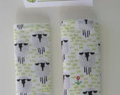Lambs Mini Car Seat Strap Covers