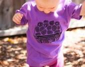 Blackberry Basket Kids Organic Cotton Tee