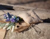 Country Wedding Ring Pillow, Rustic, Burlap Ring Bearer Pillow, Barn Wedding, Burlap Wedding, Summer Wedding, Bridal Party, Eco Wedding