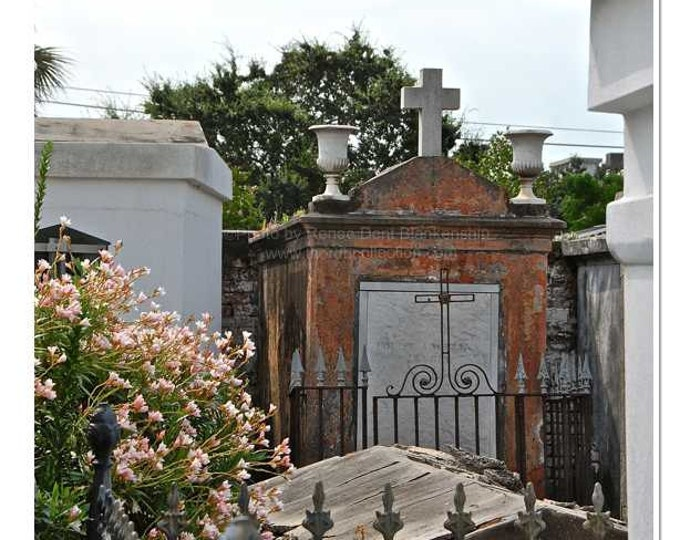 Tombs Photo - New Orleans Cemetery