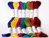 "Embroidery Floss ""Laurel Canyon"" - 7 Skeins Pack - Embroidery Thread by Sublime Floss - Embroidery Theread"