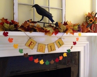 Items similar to paper garland thanksgiving decorations for Arland decoration