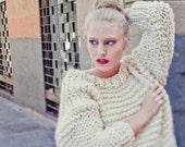 Nolita Sweater knitting kit