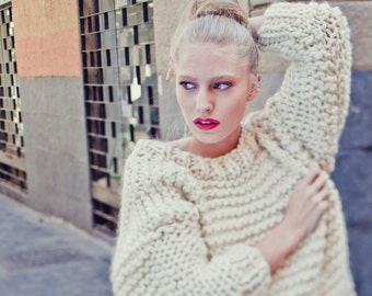 Nolita Sweater knitting kit