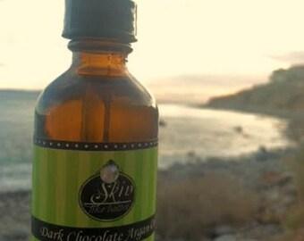 Dark Chocolate ORGANIC ARGAN OIL || Cold Pressed || 2 oz || Scented Argan Oil