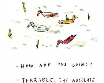 Ducks - Print