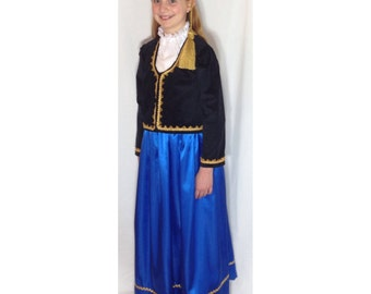 Girls - Greek Amalia Costume & Separates