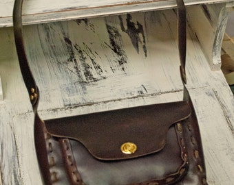 Leather Purse also Leather Bag